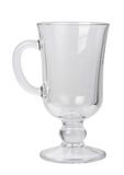 Empty glass with handle Royalty Free Stock Photo