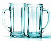 Empty glass isolated Royalty Free Stock Image
