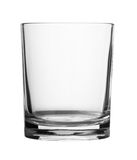 Empty glass isolated stock photos