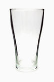 Empty glass isolated on a white Royalty Free Stock Photos