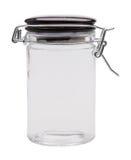 Empty glass jar Stock Photography