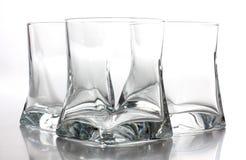 Empty glass jars Royalty Free Stock Photos