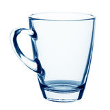 Empty glass mug Royalty Free Stock Photos