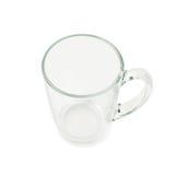 Empty glass mug isolated Stock Photos
