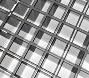 Empty glass rack Stock Images