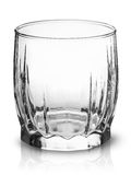 Empty glass for scotch whiskey top view Stock Images