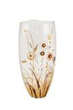 Empty glass vase Stock Images