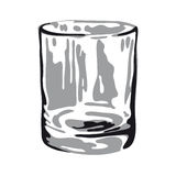 Empty glass (vector) Stock Images