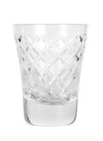 Empty glass for vodka Royalty Free Stock Photos