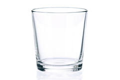 Empty glass Royalty Free Stock Photo