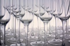 Empty glass of wine Royalty Free Stock Images