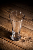 Empty glass Stock Images