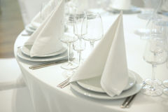 Table Layout Stock Images