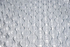 Empty glasses in a restaurant Royalty Free Stock Photo
