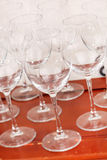 Empty glasses Royalty Free Stock Photos