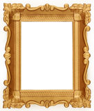 Empty Gold frame Stock Images