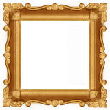 Empty Gold frame Royalty Free Stock Images