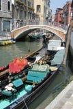Empty Gondolas Stock Image