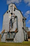 Empty Grain Elevator Royalty Free Stock Photos