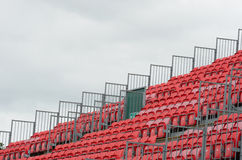 Empty grandstand Royalty Free Stock Image