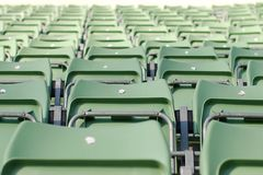 Empty Grandstand Royalty Free Stock Images