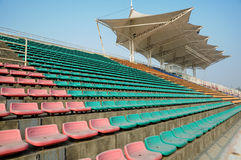 Empty grandstand Royalty Free Stock Photos