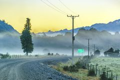 Austral Route, Patagonia, Chile Royalty Free Stock Photo