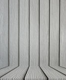 Empty gray wooden floor background Royalty Free Stock Photo