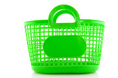 Empty green bag Stock Image