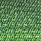 Empty green bleachers at football stadium as a background Royalty Free Stock Photos