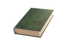 Empty green book Royalty Free Stock Photos