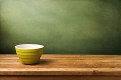 Empty green bowl Royalty Free Stock Photo