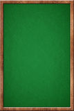 Empty green chalkboard royalty free stock photos