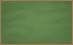 Empty green chalkboard Royalty Free Stock Photos