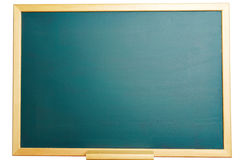 Empty green chalkboard as background Royalty Free Stock Photos