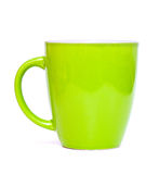 Empty green cup Royalty Free Stock Photo