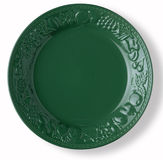 Empty green dish Royalty Free Stock Image
