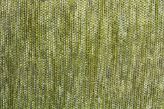 Empty green flax cloth texture or background Stock Image