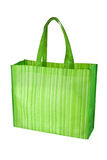 Empty green reusable grocery bag Royalty Free Stock Image