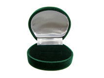Empty green ring box Royalty Free Stock Photography