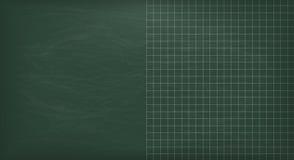 Empty Green School Board Royalty Free Stock Photography