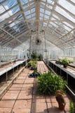 Empty Greenhouse Royalty Free Stock Photos