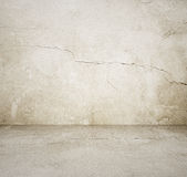 Empty grey room Royalty Free Stock Photos