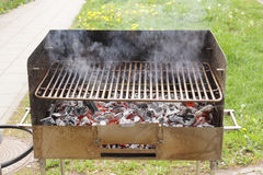 Empty grill Royalty Free Stock Photo