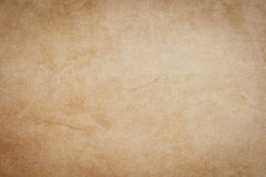 Empty grunge brown paper texture and background with space. Stock Image