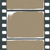 Empty grunge film strip design. May use as a background or overlays Stock Photo
