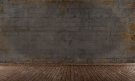 Empty grunge room Royalty Free Stock Images
