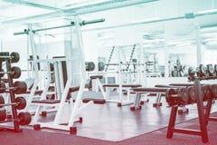 Empty gym Stock Image