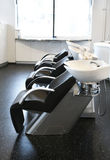 Empty hairdresser salon Royalty Free Stock Photos