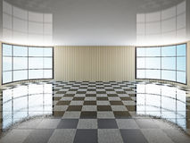 The empty hall Royalty Free Stock Photos